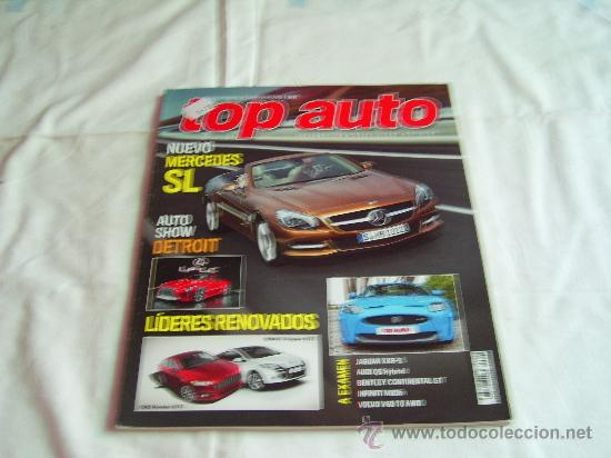 TOP AUTO Nº 268: MERCEDES SL, JAGUAR XKR-S, AUDI Q5, BENTLEY CONTINENTAL GT, VOLVO V60 AWD, CR (Coches y Motocicletas - Revistas de Motos y Motocicletas)