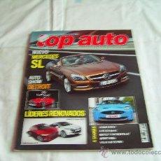 Coches y Motocicletas: TOP AUTO Nº 268: MERCEDES SL, JAGUAR XKR-S, AUDI Q5, BENTLEY CONTINENTAL GT, VOLVO V60 AWD, CR. Lote 32380783