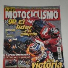 Coches y Motocicletas: MOTOCICLISMO Nº 1685 - KAWASAKI KLX 650 R / ESPECIAL GP CATALUÑA / LORIS CAPIROSSI / MOTO CROSS. Lote 32445620