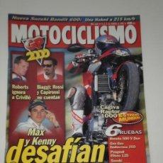 Coches y Motocicletas: MOTOCICLISMO Nº 1669 - CAGIVA RAPTOR - V RAPTOR / SUZUKI GSF 600 BANDIT / BIMOTA 500 VDUE / GAS GAS . Lote 32445686
