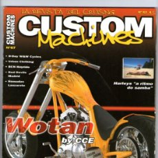 Coches y Motocicletas: CUSTOM MACHINES Nº 67 - WOTAN BY CCE - HARLEYS - STURGIS - INDIAN CHIEF ROADMASTER. Lote 32897194