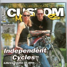 Coches y Motocicletas: CUSTOM MACHINES Nº 69 - THE DREAM - INDEPENDENT CYCLES - ZODIAC ROSMALEN - RACER & ROLL. Lote 32897306