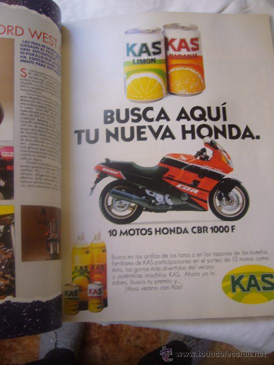Coches y Motocicletas: SOLO MOTO Nº 101 JUNIO 1991 PRUEBAS JAPONESAS BARRY SHENE - Foto 8 - 32559641