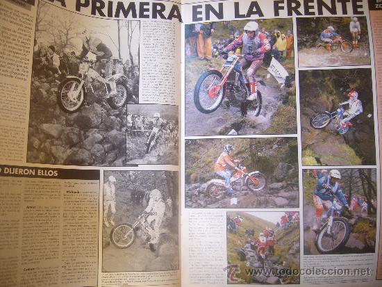 Coches y Motocicletas: SOLO MOTO ACTUAL Nº 673 MARZO 1989 SITO PONS EL ARTE HONDA CBR 6OO SAUNDERS MICHAUD - Foto 3 - 32571523