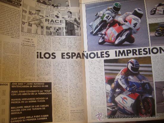 Coches y Motocicletas: SOLO MOTO ACTUAL Nº 673 MARZO 1989 SITO PONS EL ARTE HONDA CBR 6OO SAUNDERS MICHAUD - Foto 4 - 32571523