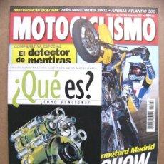 Coches y Motocicletas: MOTOCICLISMO Nº 1712 VICTORY V92SC SPORTCRUISER HONDA CBR 900 RR KAWASAKI ZX12R YAMAHA R6 SUZUKI 750. Lote 159579428