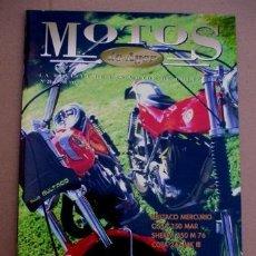Coches y Motocicletas: REVISTA MOTOS DE AYER Nº 20. Lote 150995905