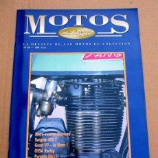 Coches y Motocicletas: REVISTA MOTOS DE AYER Nº 25. Lote 46772952