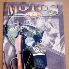 Coches y Motocicletas: REVISTA MOTOS DE AYER Nº 38. Lote 52865555