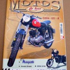 Coches y Motocicletas: REVISTA MOTOS DE AYER Nº 45. Lote 289320808