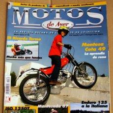 Coches y Motocicletas: REVISTA MOTOS DE AYER Nº 80. Lote 47442947