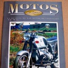 Coches y Motocicletas: REVISTA MOTOS DE AYER Nº 22. Lote 46773023