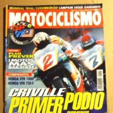 Coches y Motocicletas: REVISTA MOTOCICLISMO ABRIL 1997. Lote 32961779