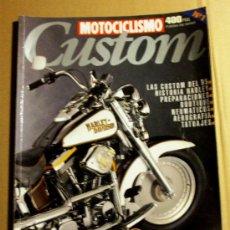 Coches y Motocicletas: REVISTA MOTOCICLISMO CUSTOM Nº 1. Lote 32961819
