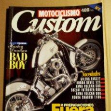Coches y Motocicletas: REVISTA MOTOCICLISMO CUSTOM Nº 2. Lote 32961837
