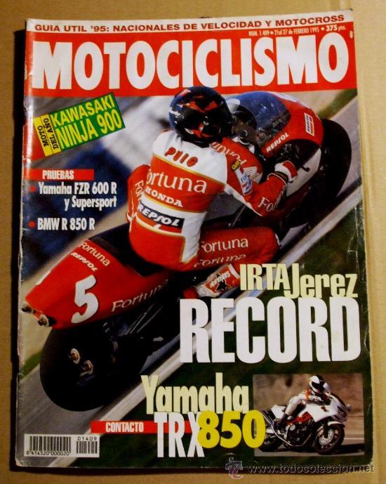 REVISTA MOTOCICLISMO FEBRERO 1995 (Coches y Motocicletas - Revistas de Motos y Motocicletas)