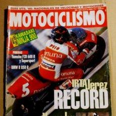 Coches y Motocicletas: REVISTA MOTOCICLISMO FEBRERO 1995. Lote 32961877