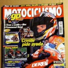 Coches y Motocicletas: REVISTA MOTOCICLISMO JULIO 2000. Lote 32961922