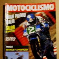 Coches y Motocicletas: REVISTA MOTOCICLISMO MAYO 1989. Lote 119455512