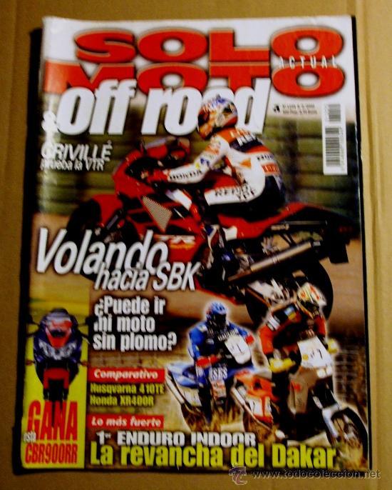 REVISTA SOLO MOTO FEBRERO 2000 (Coches y Motocicletas - Revistas de Motos y Motocicletas)