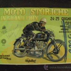 Coches y Motocicletas: MOTO STORICHE IN GRAN PRIX - CON FIRMA AUTOGRAFA DE STANLEY WOODS -. Lote 34080012
