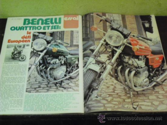 Coches y Motocicletas: MOTO REVUE Nº 2214 AÑO 1975. PRUEBA BENELLI SEI - - Foto 2 - 34169407