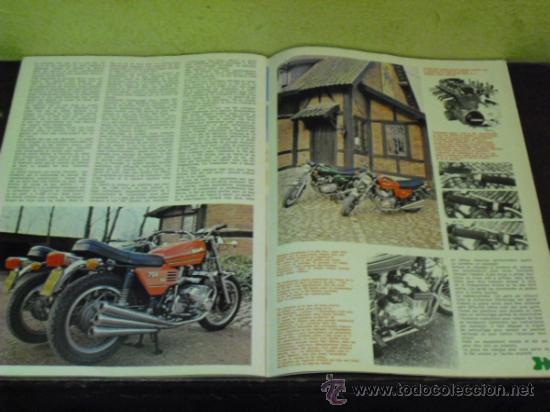 Coches y Motocicletas: MOTO REVUE Nº 2214 AÑO 1975. PRUEBA BENELLI SEI - - Foto 4 - 34169407
