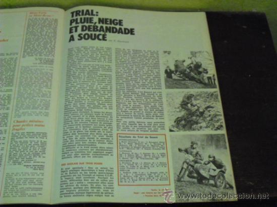 Coches y Motocicletas: MOTO REVUE Nº 2214 AÑO 1975. PRUEBA BENELLI SEI - - Foto 5 - 34169407