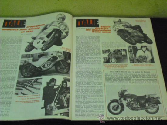 Coches y Motocicletas: MOTO REVUE Nº 2214 AÑO 1975. PRUEBA BENELLI SEI - - Foto 3 - 34169407