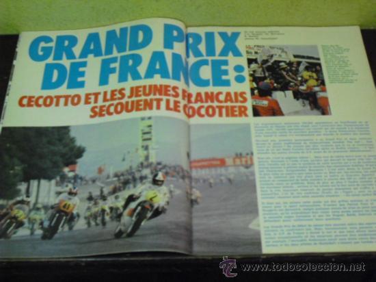 Coches y Motocicletas: MOTO REVUE Nº 2214 AÑO 1975. PRUEBA BENELLI SEI - - Foto 7 - 34169407