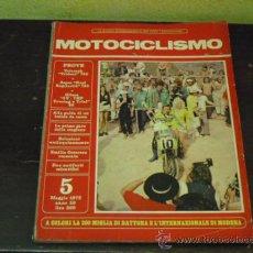 Coches y Motocicletas: MOTOCICLISMO Nº 5 - 1973 - PRUEBA TRIUMPH TRIDENT 750. Lote 34168533