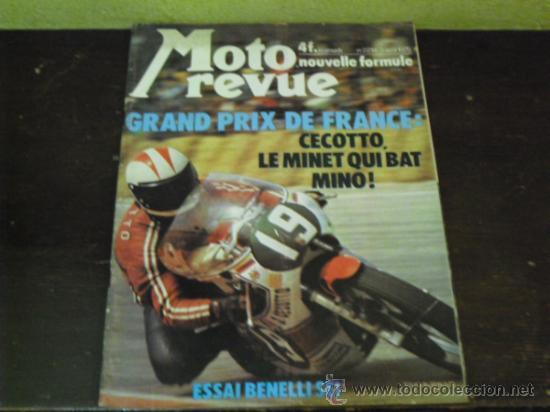 MOTO REVUE Nº 2214 AÑO 1975. PRUEBA BENELLI SEI - (Coches y Motocicletas - Revistas de Motos y Motocicletas)