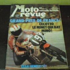 Coches y Motocicletas: MOTO REVUE Nº 2214 AÑO 1975. PRUEBA BENELLI SEI -. Lote 34169407