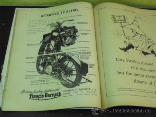 Coches y Motocicletas: THE MOTOR CYCLE - 1950 - NORTON DOMINATOR - - Foto 2 - 34268265