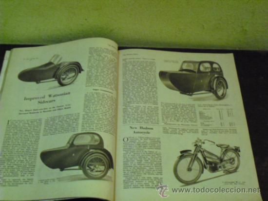 Coches y Motocicletas: THE MOTOR CYCLE - 1950 - NORTON DOMINATOR - - Foto 4 - 34268265