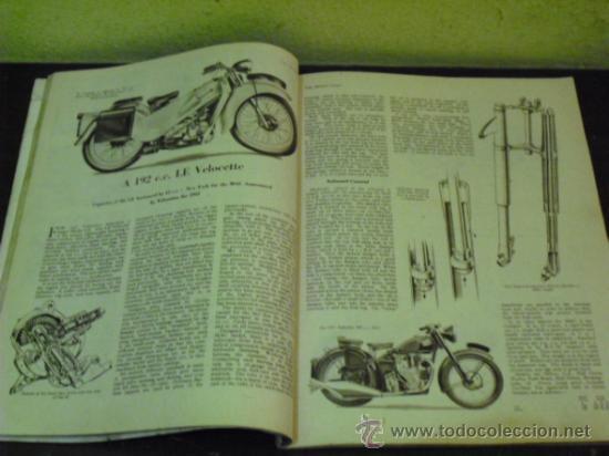Coches y Motocicletas: THE MOTOR CYCLE - 1950 - NORTON DOMINATOR - - Foto 3 - 34268265