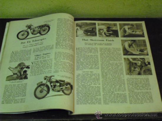 Coches y Motocicletas: THE MOTOR CYCLE - 1950 - NORTON DOMINATOR - - Foto 5 - 34268265
