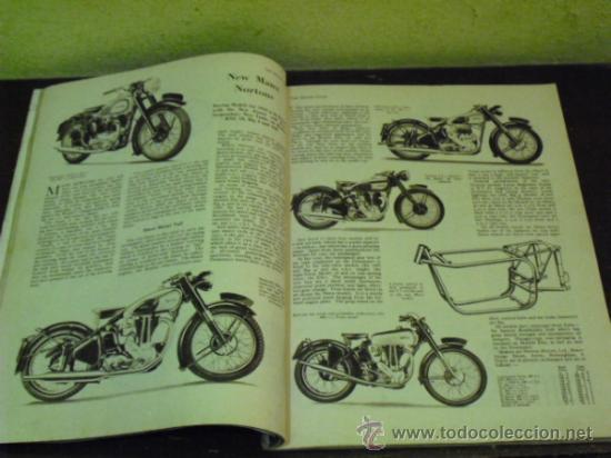 Coches y Motocicletas: THE MOTOR CYCLE - 1950 - NORTON DOMINATOR - - Foto 6 - 34268265