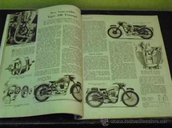 Coches y Motocicletas: THE MOTOR CYCLE - 1950 - NORTON DOMINATOR - - Foto 7 - 34268265