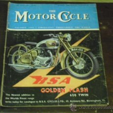Coches y Motocicletas: THE MOTORCYCLE - 1950 - B.S.A. GOLDEN FLASH -. Lote 34267964