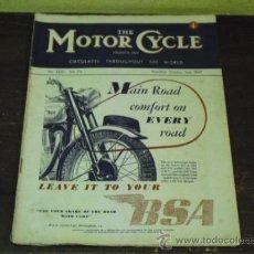 Coches y Motocicletas: THE MOTOR CYCLE Nº 2321 - 1947 - VARIAS PRUEBAS MOTOS BRITANICAS -. Lote 34268820