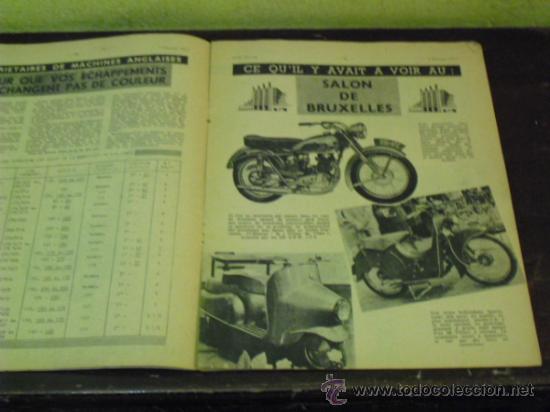 Coches y Motocicletas: MOTO REVUE Nº 1.122 AÑO 1953 - SALON DE BRUSELAS DE LA MOTO - - Foto 2 - 34332408