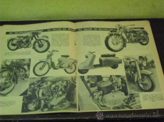 Coches y Motocicletas: MOTO REVUE Nº 1.122 AÑO 1953 - SALON DE BRUSELAS DE LA MOTO - - Foto 3 - 34332408