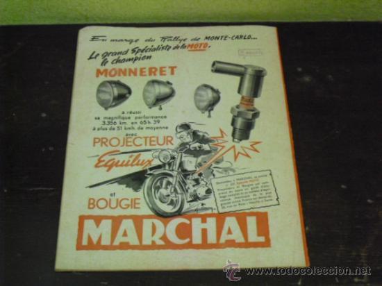 Coches y Motocicletas: MOTO REVUE Nº 1.122 AÑO 1953 - SALON DE BRUSELAS DE LA MOTO - - Foto 5 - 34332408