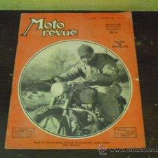 Coches y Motocicletas: MOTO REVUE Nº 1.122 AÑO 1953 - SALON DE BRUSELAS DE LA MOTO -. Lote 34332408