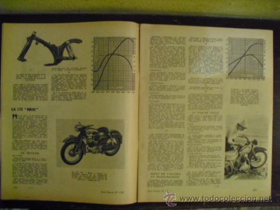Coches y Motocicletas: MOTO REVUE Nº 1.321 - 1956 - PRUEBA N.S.U. 250 SUPER-MAX - - Foto 3 - 34376103