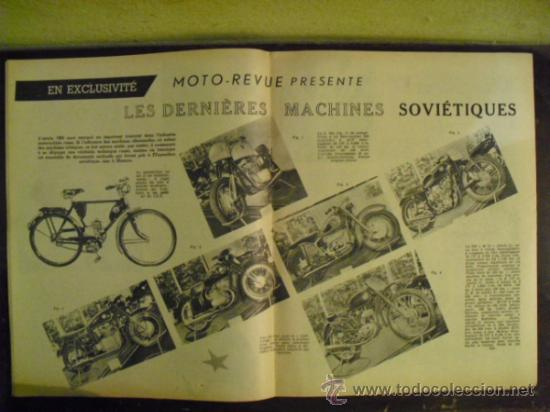 Coches y Motocicletas: MOTO REVUE Nº 1.321 - 1956 - PRUEBA N.S.U. 250 SUPER-MAX - - Foto 4 - 34376103
