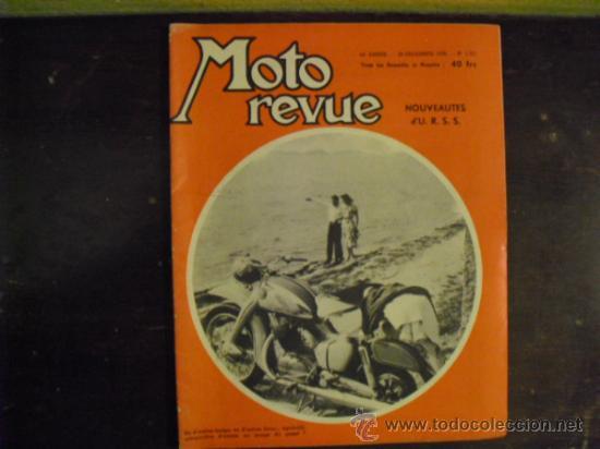 MOTO REVUE Nº 1.321 - 1956 - PRUEBA N.S.U. 250 SUPER-MAX - (Coches y Motocicletas - Revistas de Motos y Motocicletas)