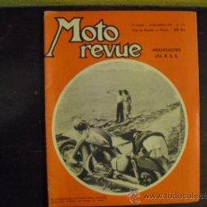 Coches y Motocicletas: MOTO REVUE Nº 1.321 - 1956 - PRUEBA N.S.U. 250 SUPER-MAX -. Lote 34376103