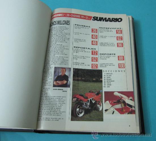Coches y Motocicletas: TOMO ENCUADERNANDO LA REVISTA MOTOCICLISMO Nº1240, Nº1241, Nº1242, Nº1243, Nº1244, Nº1245, Nº1246 - Foto 2 - 34518607